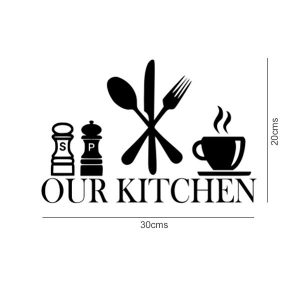 Our Kitchen Wall Art Sticker