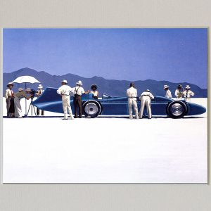 Jack Vettriano Art Print Bluebird at Bonneville