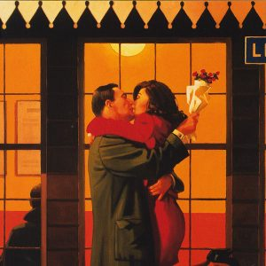 Jack Vettriano Art Print Back Where You Belong