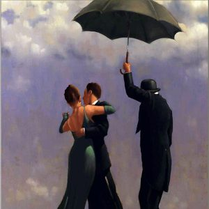 Jack Vettriano Art Print Dancer In Emerald