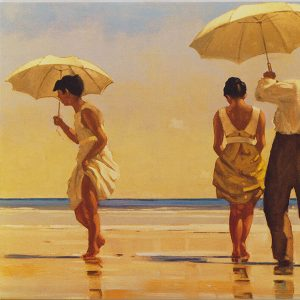 Jack Vettriano Art Print Mad Dogs