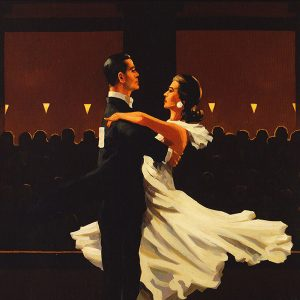 Jack Vettriano Art Print Take This Waltz