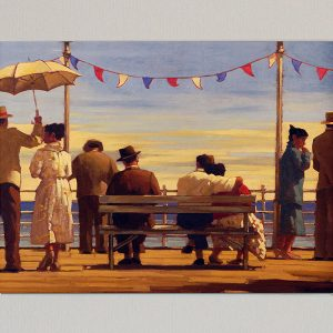 Jack Vettriano Art Print The Pier