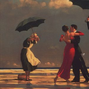 Jack Vettriano Art Print The Singing Butler