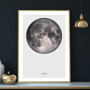 "The Moon ""Luna"" Art Print"