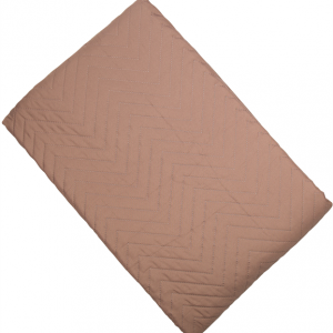 Amelle Blush Pink Quilted Double Bedspread