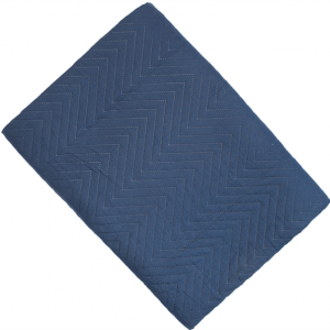 Amelle Navy Quilted Double Bedspread