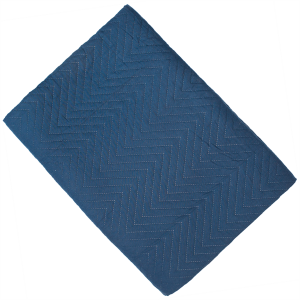 Amelle Navy Quilted King Bedspread