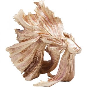 Beautiful Betta Fish Gold Giant Decorative Ornament