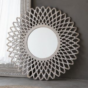 Bharta Round Decorative Mirror