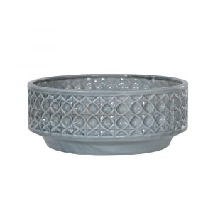 Blue Patterned Decorative Bowl