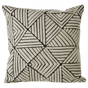 Bosie Ozella Diamond Design Monochrome Cushion