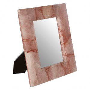 Bowerbird Large Pink Quartz Photo Frame
