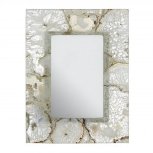 Bowerbird White Agate 4 X 6 Photo Frame