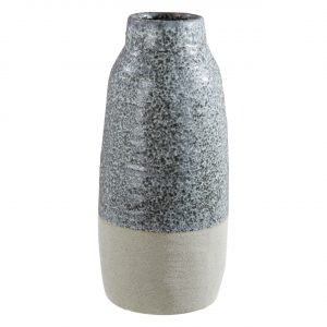 Caldera Grey Speckled Large Vase