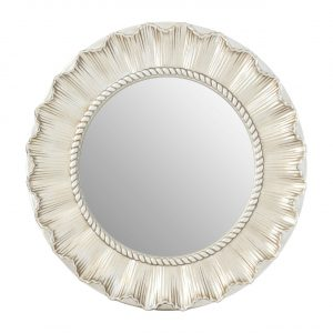 Champagne Flared Wall Mirror