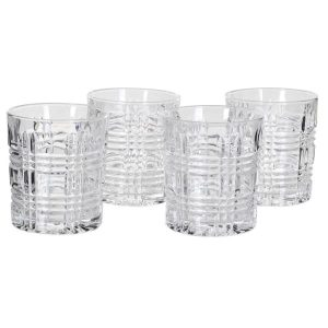Chequers Glass Tumblers