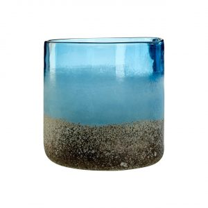 Chiara Small Blue Vase