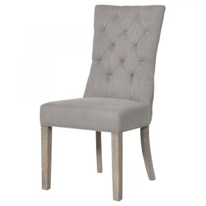 Fawn Button Dining Chair