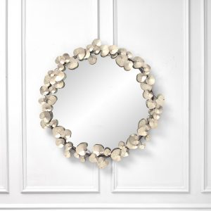 Gaia Round Decorative Statement Mirror