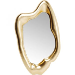 Hologram Gold Mirror Medium