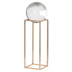 Large Crystal Ball On Frame