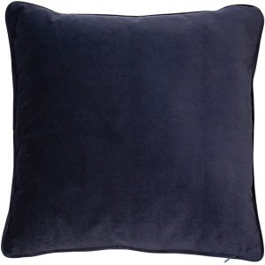 Luxe Navy Velvet Cushion