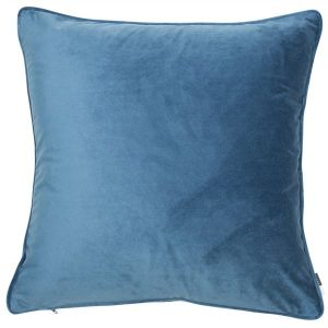 Luxe Bluewing Velvet Cushion