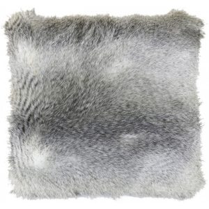 Mink And Sable Faux Fur Cushion