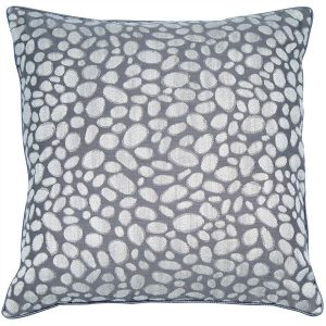 Pebbles Grey Cushion Large