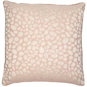 Pebbles Pink Blush Cushion