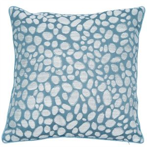 Pebbles Seafoam Cushion Large