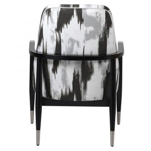 Vector Abstract Monochrome Armchair
