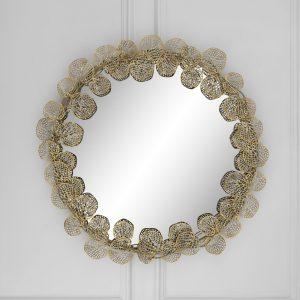 Verina Round Decorative Statement Mirror