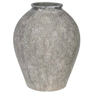 Woven Effect Large Vase